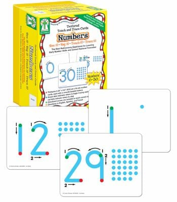 Textured Touch and Trace: Numbers: The Best Multisensory Experience for Learning Early Number Skills and Correct Numeral Formation 9781933052618