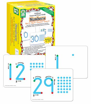 Textured Touch and Trace: Numbers: The Best Multisensory Experience for Learning Early Number Skills and Correct Numeral Formation