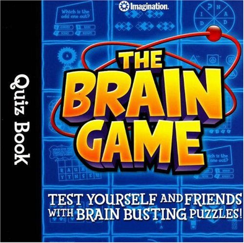 The Brain Game Quiz Book 9781934524084