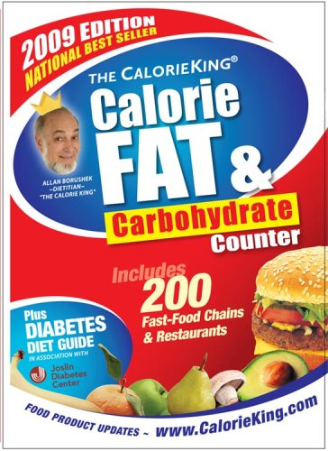 The CalorieKing Calorie, Fat & Carbohydrate Counter 9781930448223