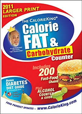 The Calorieking Calorie, Fat & Carbohydrate Counter 9781930448346