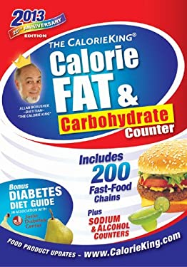 The Calorieking Calorie, Fat, & Carbohydrate Counter 2013 9781930448537