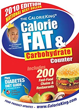 The CalorieKing Calorie, Fat and Carbohydrate Counter 9781930448278