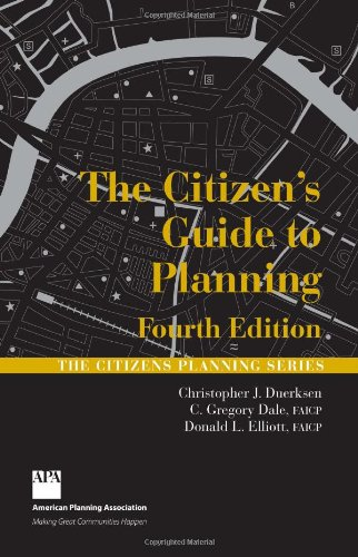 The Citizen's Guide to Planning 9781932364651