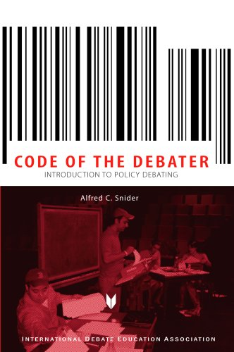 The Code of the Debator: Introduction to Policy Debating