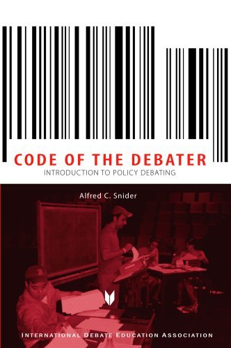 The Code of the Debator: Introduction to Policy Debating 9781932716412