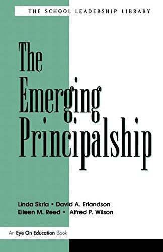 The Emerging Principalship 9781930556119