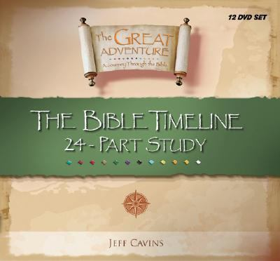 The Great Adventure Bible Timeline 24 Part Study DVDs by Jeff Cavins