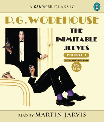 The Inimitable Jeeves, Volume 1 9781934997246