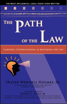 The Path of the Law 9781933230085