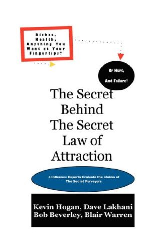 The Secret Behind the Secret Law of Attraction 9781934266021