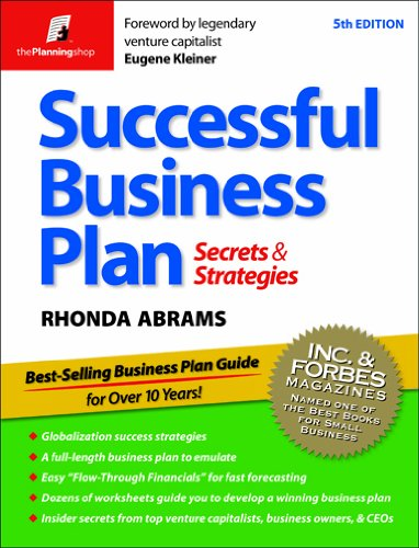 Successful Business Plan: Secrets & Strategies 9781933895147