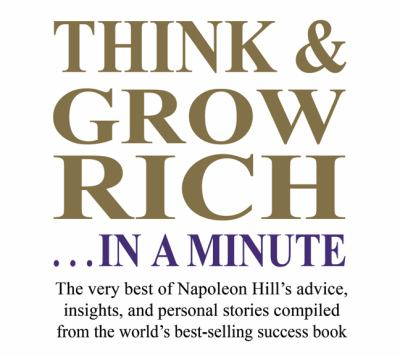 Think & Grow Rich... in a Minute 9781932429626