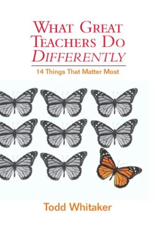 What Great Teachers Do Differently: Fourteen Things That Matter Most 9781930556690