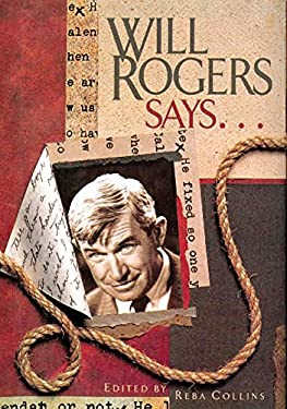 Will Rogers Says... 9781934397039