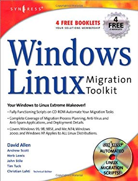 Windows to Linux Migration Toolkit [With CD-ROM] 9781931836395