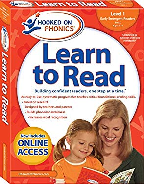 Hooked on Phonics Learn to Read - Level 1: Early Emergent Readers (Pre-K   Ages 3-4)