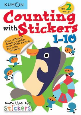 Counting With Stickers 1-10 (Kumon Math Skills)