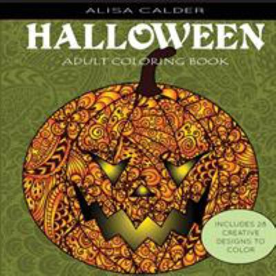 Adult Coloring Books: Halloween Designs