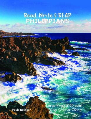 Read, Write & REAP PHILIPPIANS: LARGE PRINT 18-20 point, King James Today
