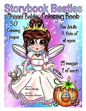 Storybook Besties Sherri Baldy Coloring Book