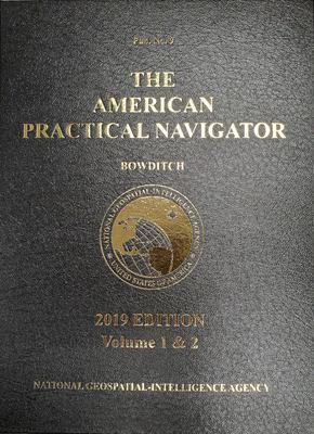 2019 American Practical Navigator 'BOWDITCH' Vol 1 & 2