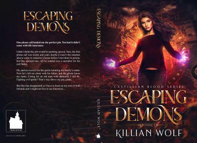 Escaping Demons: (New Adult Reaper Paranormal Urban Fantasy Book 1-Castillian Blood Series)