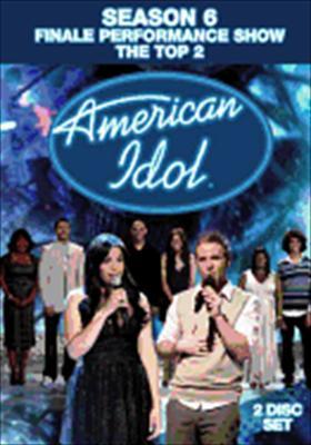American Idol: Season Six Finale Performance Show, the Top Two