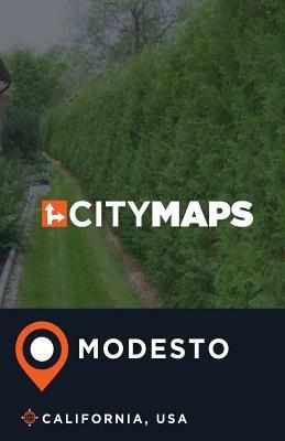 City Maps Modesto California, USA