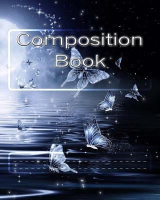 Composition Book: Butterfly Stars