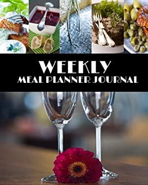 Weekly Meal Planner Journal: Weekly Meal Planner (52 Week Food Planner & Tracker)(V4)