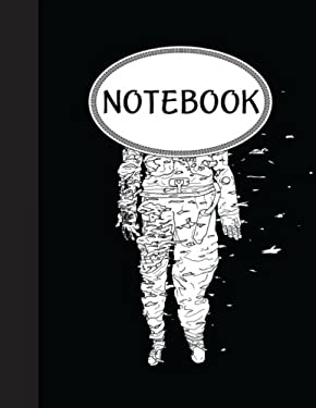 """Notebook: Journal Dot-Grid,Graph,Lined,Blank No Lined : White Astronaut : Pocket Notebook Journal Diary, 110 pages, 8.5"""" x 11"""""""
