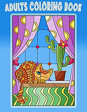 Adults Coloring Book: Stained Glass Nouveau Coloring Book Dover Adults/Kids