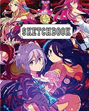 "Sketchbook: Anime Mixed : 110 Pages of 8"" x 10"" Blank Paper for Drawing, Doodling or Sketching (Sketchbooks)"
