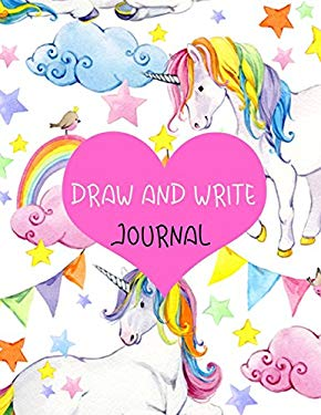 "Draw And Write Journal: Primary Journal Notebooks Grades K-2 With Picture Space Half Lined (1"" Wide)(Primary Notebooks)(V18)"