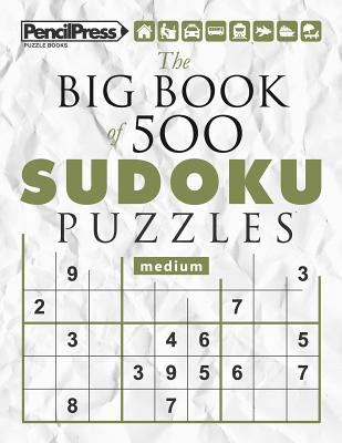 The Big Book of 500 Sudoku Puzzles Extreme (with answers)