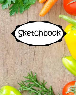 """Sketchbook : Fruits 3: Socute : 110 Pages of 8"""" x 10"""" Blank Paper for Drawing (Sketchbooks)"""