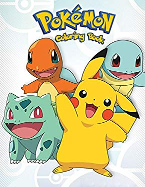 Pokemon: Coloring Book for Kids and Adults, Activity Book, Great Starter Book for Children (Coloring Book for Adults Relaxation and for Kids Ages 4-12