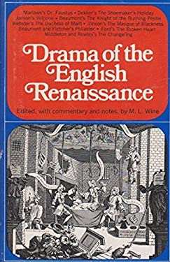 Drama of the English Renaissance (Modern Library, 392.1)