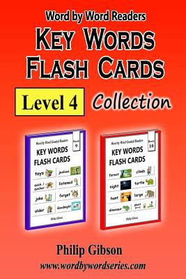 KEY WORDS FLASH CARDS: Level 4 (Key Words Flash cards Collections) (Volume 4)