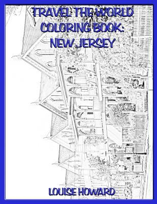 Travel the World coloring book: New Jersey (Volume 59)