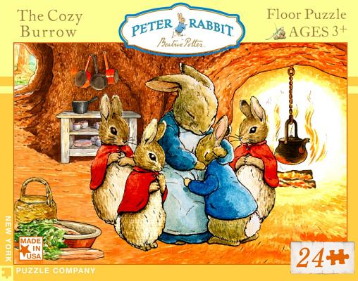 Cozy Burrow 24 Piece Children's Floor Puzzle by New York ...