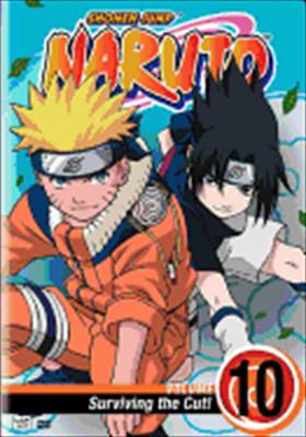 Naruto Volume 10: Surviving the Cut