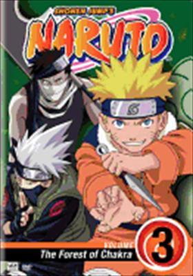 Naruto Volume 3: Forest of Chakra