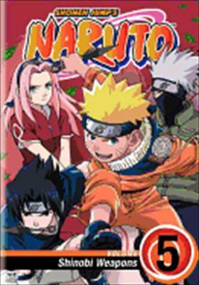 Naruto Volume 5: Shinobi Weapons