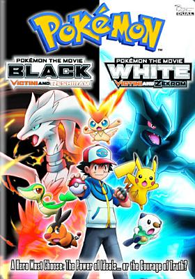 Pokemon the Movie-Black-Victini & Reshiram/White-Victini & Zekrom 0782009242307
