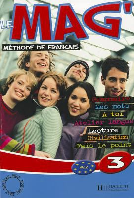 Le Mag Level 3 Textbook 9782011554185