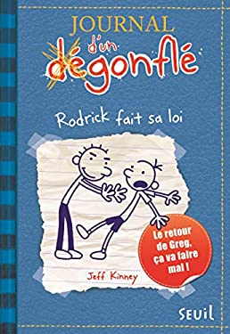 Journal D'Un Degonfle T2. Rodrick Fait Sa Loi 9782020988186
