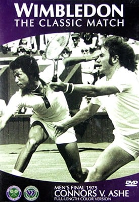 1975 Wimbledon Final: Ashe Vs. Connors