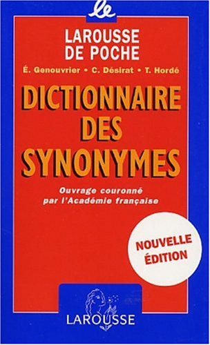 Dictionnaire Des Synonymes 9782035320865
